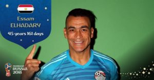 EL-hadary becomes oldest player in world cup history