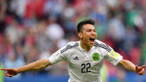 Five potential world cup stars - Hirving Lozano