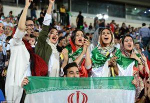 Iranian women allowed to watch football match