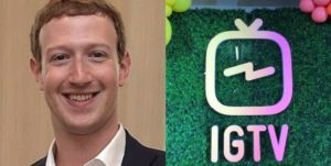 Mark zuckerberg lanches tv service IGTV to rival youtube