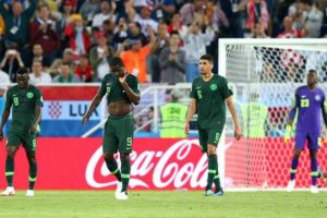 Nigerians reacts to super eagles loss to croatia