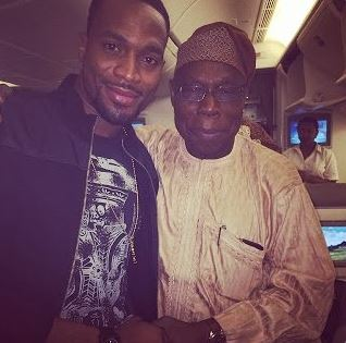 Obasanjo, wizkid and banky w send condolences to D'Banj
