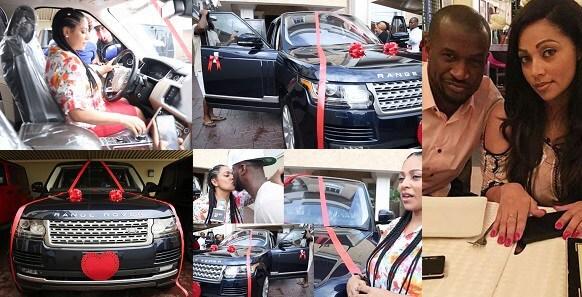 Peter Okoye bought range rover for his wife Lola Omotayo