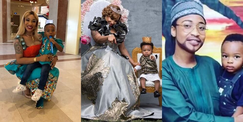 Tonto dikeh celebrates herself on fathers day