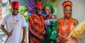 lovely photos from Ajebo & Uche Kalu's traditinal wedding