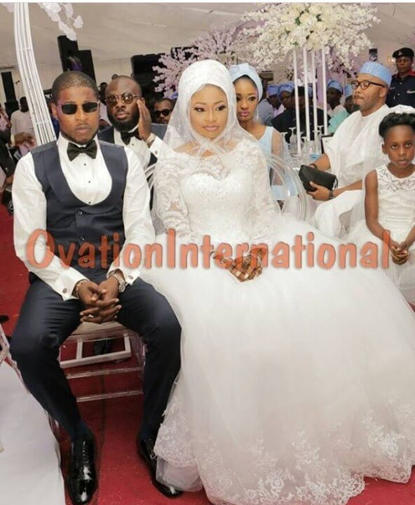photos from Alaafin of oyo daughter wedding