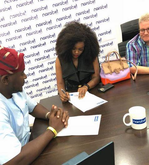 Ceec unveiled as nairabet ambassador