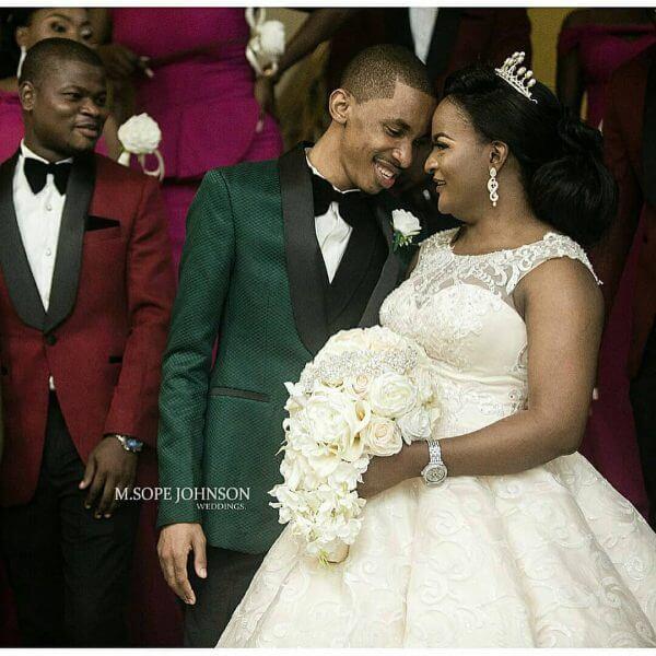 Dj consequence white wedding photos