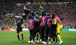 France beat Croatia 4-2 to win 2018 world cup final