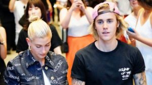 Justin beiber and Hailey Baldwin engagement news