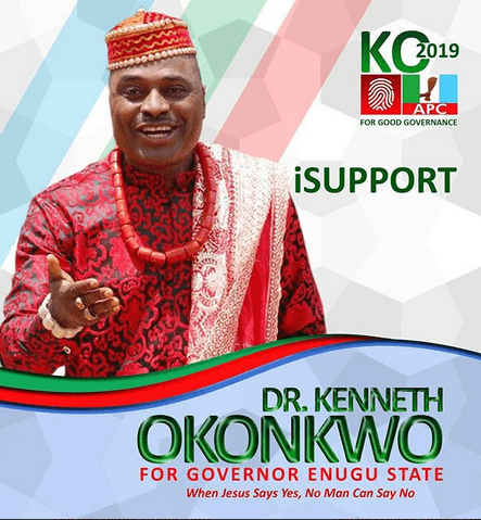 Kenneth Okonkwo to become Enugu governor