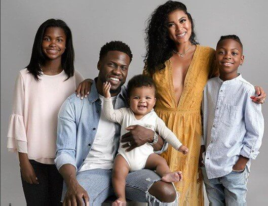 Kevn hart and family photos