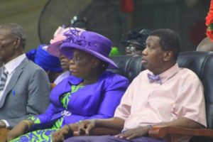 Pastor Adeboye's wife at 70