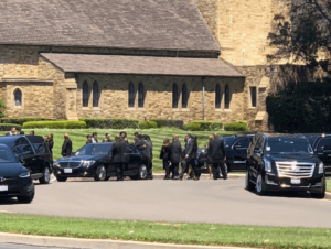 Joe jackson's funeral