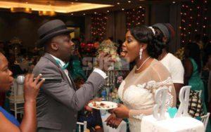 Risper Faith wedding picture