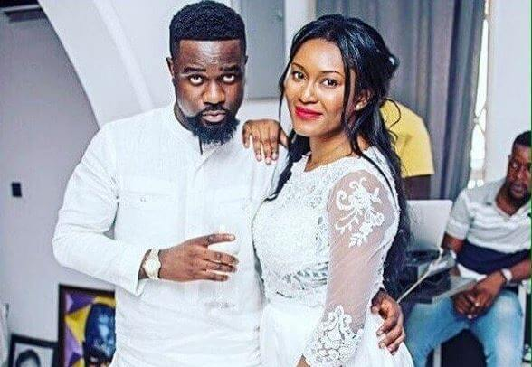 Photos from Sarkodie Wedding to Tracy