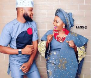 Yewande Adekoya and her husband photos