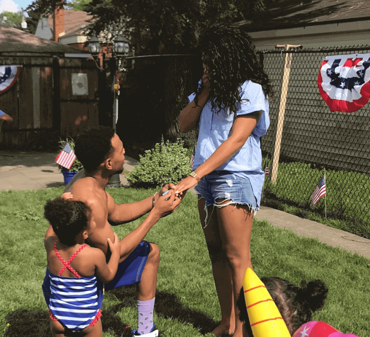 Chance The raapper proposes to girlfriend