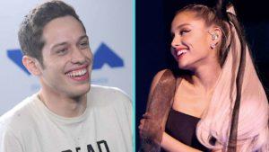 Pete Davidosn gives Ariana Grande Pendant