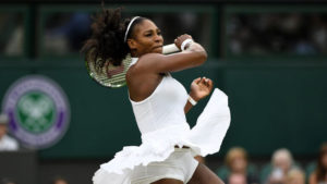 Serena williams and Angelique keber in wimbledon final