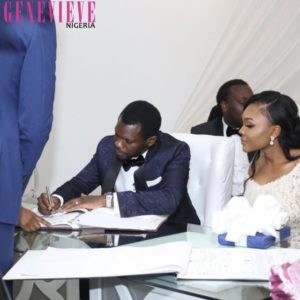 Photos from Olu Jacobs & Joke Silva son's wedding