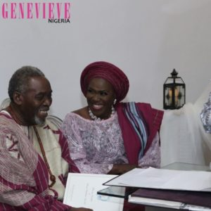 Olu Jacobs and Joke Silva in son's wedding