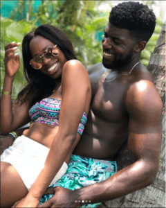 Yvonne Orji and Emmanuel Acho vacation photos