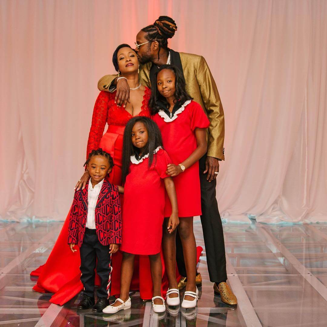 2Chainz marries fiance Kesha Ward