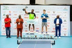 Aruna Quadri wins men single at ITTF
