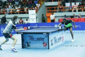 Aruna Quadri wins mens single at ITTF