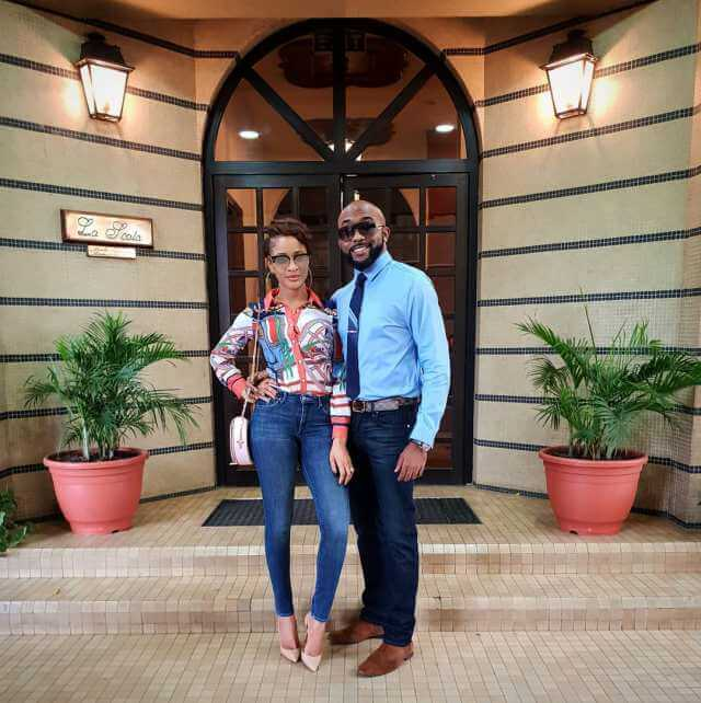 Banky w and Adesua Etomi new photos