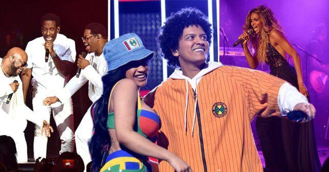Bruno Mars unveils Ciara and Boyz II Men for his tour