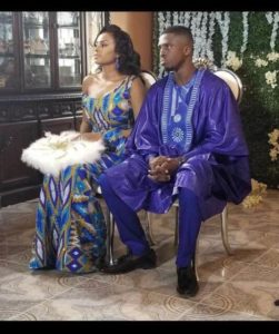 Chantelle Asante traditional wedding