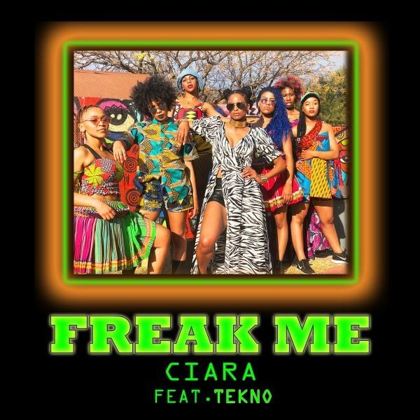 "Ciara to feature Tekno on ""Freak Me"""