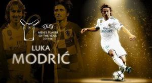 Luka Modric beats Ronaldo and Salah to Uefa Award