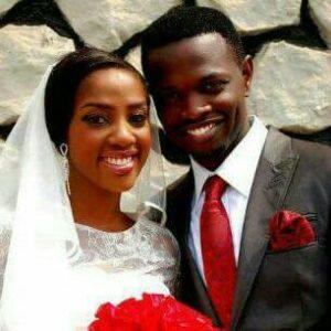 Seun Osigbesan and her husband