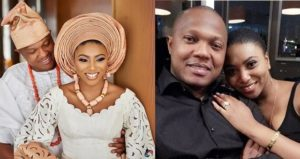 Stephanie coker and husband celebrates first wedding anniversary