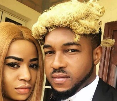 """Nonso Diobi on set of Movie """"Illiterate lawyer"""""""
