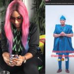 Juliet Ibrahim wishes Iceberg slim happy birthday