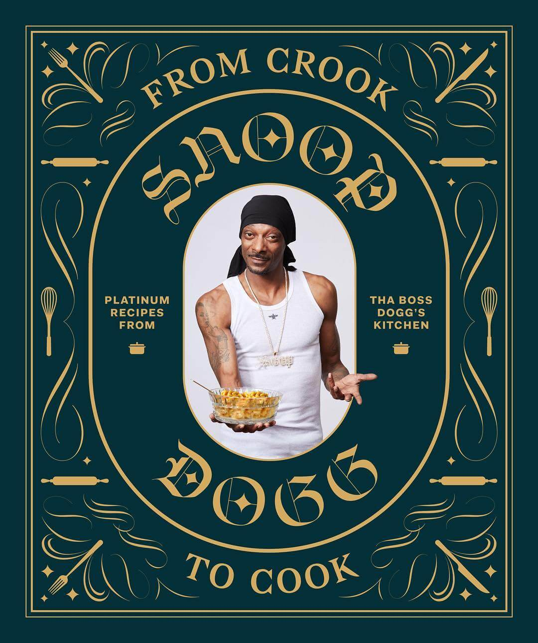 Snoop dogg cookbook 'from crook to cook'