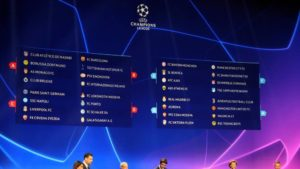 Uefa Champions league draw