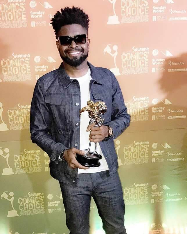 Basketmouth Wins Comic Of The Year Award For The 2nd Time