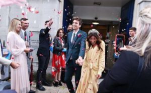 Greg James and Bella Mackie gets married
