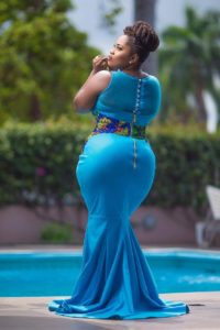 Lydia Forson in a natural hairstyle