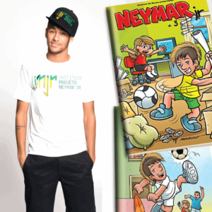 Brazil star Neymar launches new comic book