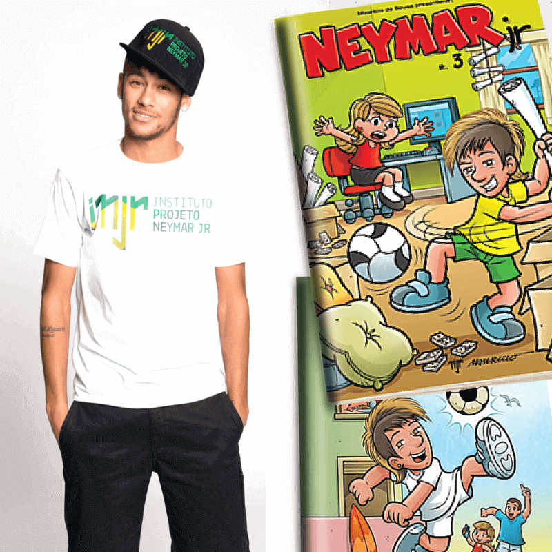 Brazil star Neymar launches new comic book