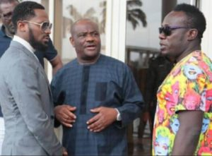 D'Banj with River state governor