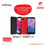 Airtel offes double data on tecno, infinix and itel smartphones