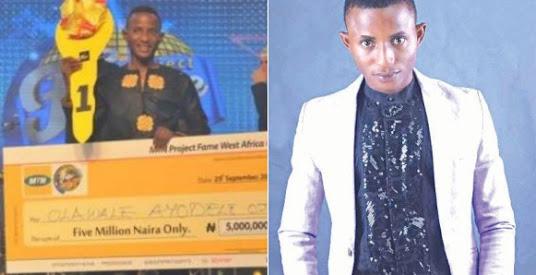 2013 project fame winner, Olawale Ojo