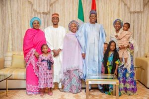 Buhari and his family
